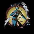 Ninja girl moon sabers