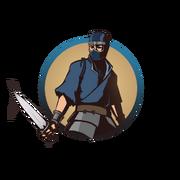Ninja man knives