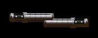 Weapon steel batons