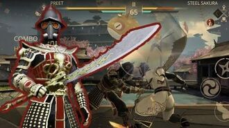 Shadow Fight 3, Dragon's Roar Dadao vs blossom festival