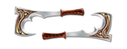 Weapon super axes