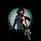 Ninja girl sai