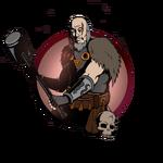 Man big hammer