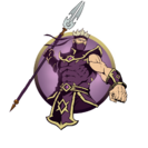 Ninja man spear