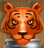 Wicked Tiger (Silver)