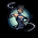 Ninja girl sickles