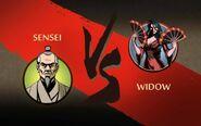 Sensei vs Widow (2)
