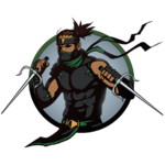 Ninja man sai
