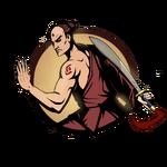 Man chinese sabre