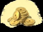 Pile coins
