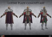 Lupine Plate Concept Art