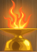 Heavenly fire (Gold)