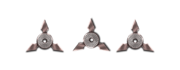Ranged heavy shurikens