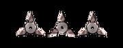 Ranged heavy shurikens