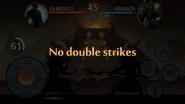 Arkhos Raid No Double Strikes
