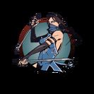 Ninja girl swords
