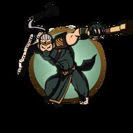 Ninja man tonfa
