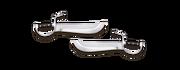 Weapon butterfly swords