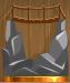 The bridge on the rocks (Bronze)