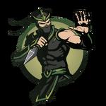 Ninja man kunai