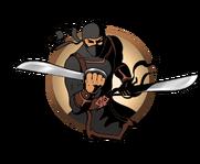 Ninja man butterfly swords