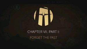 Chapter VII Part I Titlecard