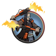 Man z7 tournament firebatons