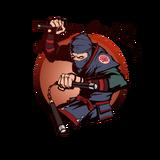 Ninja man nunchaku