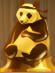 Karate Panda (Gold)