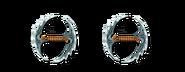 Ranged super chakram blades