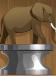 Crouching Elephant (Silver)