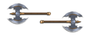 Weapon labrys axes