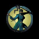 Ninja girl sharp tonfa