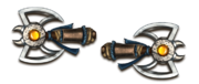 Ranged beast axes