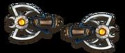 Ranged beast axes