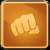 Punchfights bronze
