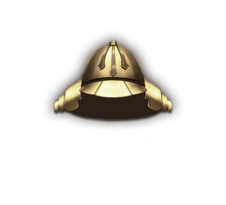 Helm bronze