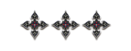 Ranged shuriken of darkness