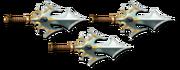 Ranged super daggers