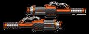 Weapon fire batons