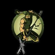 Ninja man magari yari