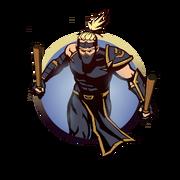 Ninja man batons
