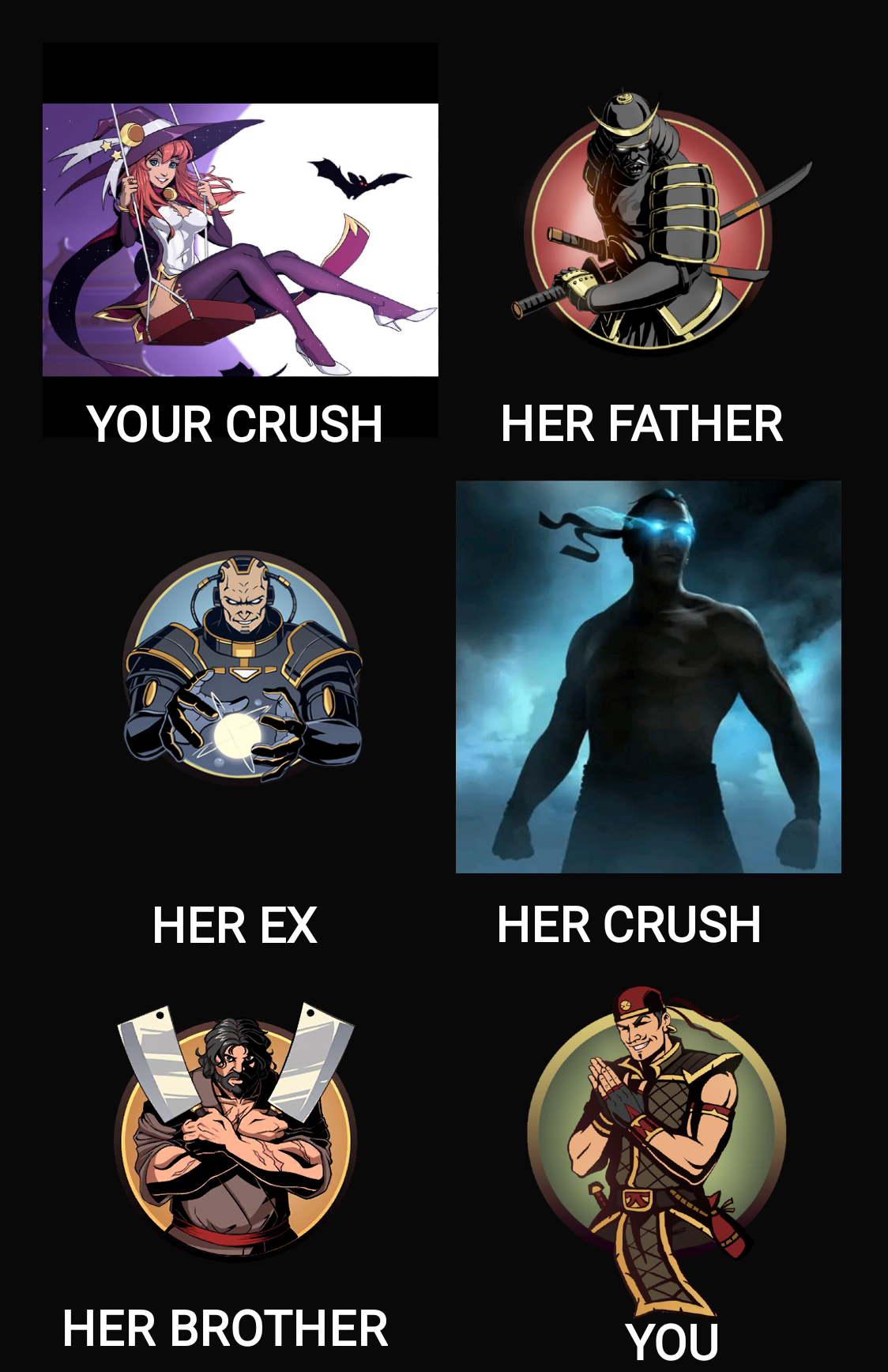 Sf2 crush
