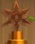 Wooden Shuriken (Bronze)