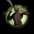 Ninja man kusarigama