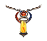 Magic fire pillar
