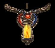 Magic fire pillar