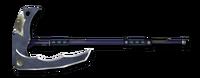 Weapon composite scythe