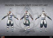 Frozen Dragon Concept Art