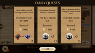 Raids Daily Quests